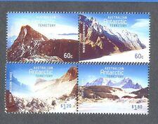 Australian Antarctic Territory-Mountains mnh set2015