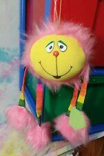 Vintage GOOFBALLS Plush Toy 1982 AmToy AGC Pink Yellow