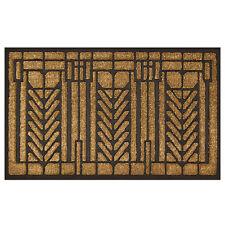 "Frank Lloyd Wright Tree of Life Design Coir Fiber 36"" x 22"" Doormat"