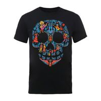 New Official DISNEY - COCO SKULL PATTERN T-Shirt