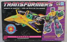 HASBRO VTG 1993 TRANSFORMERS EUROPEAN G1 TRAKKON FEARSWOOP UNUSED BOXED MIB