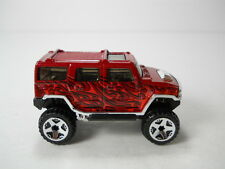 Hot Wheels Lifted 4x4 Hummer H2 1/64 Scale JC55