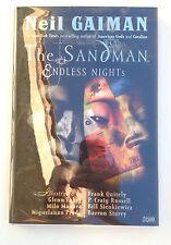 The Sandman Endless Nights and World's End Neil Gaiman Stephen King 1st printing