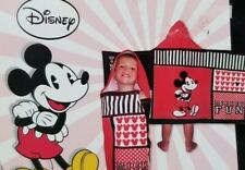 Disney Mickey Mouse Mickey Fun Kids Hooded Towel NWT