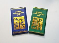 SPECIAL!1 Blue 1 Green Elongated Penny Collecting Book w/ 2 FREE Pennies!!