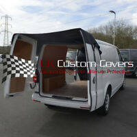 VW T6 TRANSPORTER (2015 ONWARDS) REAR DOOR COVER - BLACK 401