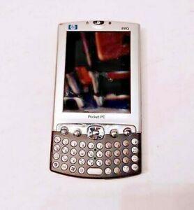 HP IPAQ H4350 H4300 SERIES POCKET PC KEYBOARD BLUETOOTH WI-FI BLACK & SILVER PDA