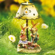 Teelichtlampe »Ostern«, Teelichthalter, 14 cm, Steinharz, Osterdeko