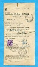 SIRACUSANA - £.25 ISOLATO e USATO COME SEGNATASSE ann.QUISTELLO    (231779)