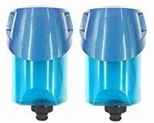(2) Oem Bissell PowerFresh Steam Mop Water Tank with Cap and Insert, 2038412