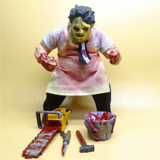 "The Texas Chainsaw Massacre Leatherface Mezco 8"" Action Figure  loose"