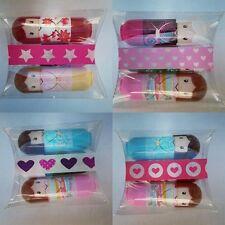 kimono doll Lip balm gift set 3 x lip fruity scented lip gloss beauty kit girls
