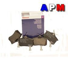 Plaquettes ARRIERE RENAULT CLIO III  1.5 dCi FAP 103cv