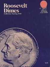 ROOSEVELT DIMES  #9029 (1946-1978) VINTAGE WHITMAN COIN FOLDER - USED  #102