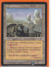 MTG  Tempest Uncommon Card   1 x  GHOST TOWN   Never played
