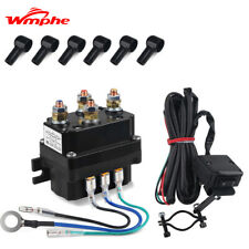 Winch Contactor Thumb Switch Winch Solenoid Relay For Warn Atv Utv 12V 250A