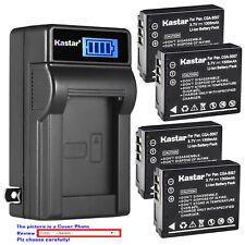 Kastar Battery LCD Wall Charger for Panasonic CGA-S007 Panasonic LUMIX DMC-TZ3