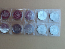 2001 Complete set of Federation 50 cent coins