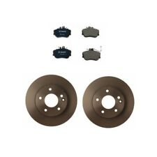 Mercedes C230 W202 Kit of Front Left & Right Brembo Solid Brake Discs Bosch Pads