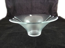 """Holmegaard Glass Bowl -Lightly Textured Finish on Exterior 10"""""""