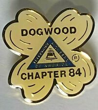 Dogwood Flower Chapter 84 Telephone Pioneers Of America Collectible Pin Enameled