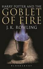 Harry Potter and the Goblet of Fire (Book 4): Adult Edition, 0747574502, New Boo