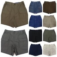 Men Cargo Shorts Big Tall  Side Elastic Croft and Barrow Sizes Large Variety