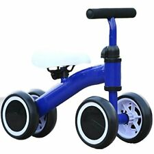 Kool KiDz Mini Bike Toddler Trike - Learn Motor Skills and Balance 19in. (Blue)