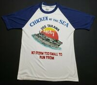 Vintage USMC USS Tawara LHA-1 Shirt 38 Inch Chest Chicken of the Sea