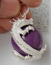 Amethyst Sterling Silver Handcrafted Necklaces & Pendants