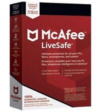 McAfee LiveSafe 2018 Internet Security ✔️ Antivirus ✔️ AntiMalware ✔️3 Years ✔️