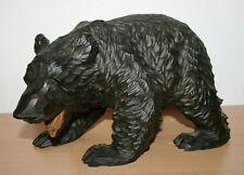 Antiker Bär - Holz - handgeschnitzt - Tomiya Sawada Japan - wie Brienz - um 1930