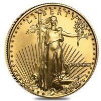 1991 1/2 oz $25 Gold American Eagle BU (MCMXCI)