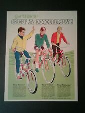 1968 Get With It Murray Bicycles Eliminators~Middleweights Bike Memorabilia AD