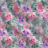 Floral Cotton Cambric Stoff von der Werft 44'' breit geeignet für Kimono-Kleid