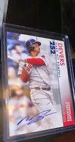 2020 Topps Series 2 Rafael Devers Significant Statistics Auto 13/25 Red Sox