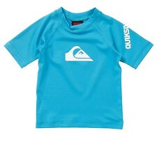 Quiksilver Toddler Size 2T All Time Ss Short Sleeve Rashguard Upf 50+ New