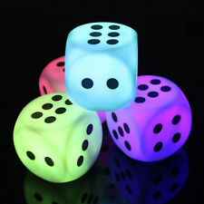 Battery Creative LED Night Light Discoloration Dice Head Bedroom Xmas Decor Gift