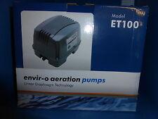 Hailea ET100 - Air Pump. 100 litres Per Hour. Koi & Fish Ponds .