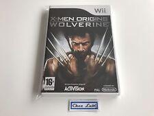 X-Men Origins Wolverine - Nintendo Wii - FR - Neuf Sous Blister