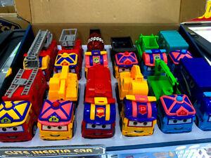 BRAND NEW 12PCS Cute Inertia Car Toys - 1:32 Scale