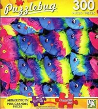 Puzzlebug Colorful Hedgehog Fun Fair Prizes - 300 Pieces Jigsaw Puzzle