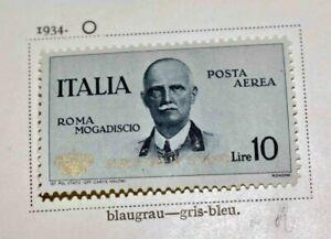 Italien 1862 bis 1944: SPITZEN-Sammlung auf alten Schwaneberger-Vordrucken