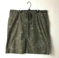 Fresh Produce Causal Drawstring Skirt Size Large