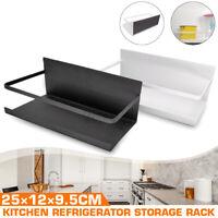 Kitchen Refrigerator Side Storage Sidewall Holder Magnetic Organizer Shelf Rack