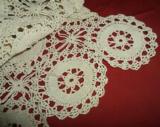 Vintage Hand Crocheted Table Scarf/Runner