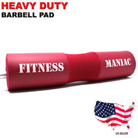 Squat Barbell Pad Support Gym Weight Lifting Bar Foam Cover Pull Up Neck Protect