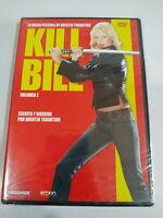 Kill Bill Volume 2 Tarantino Uma Thurman - DVD Région 2 Espagnol Anglais Neuf