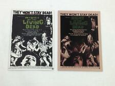 Night of the Living Dead - Adam Cline Sketch Card with Promo Card