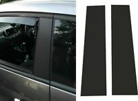 Fiat 595 500 Abarth PILLARS & MIRROR TRIM Decal Stickers BUBBLEFREE Blackout